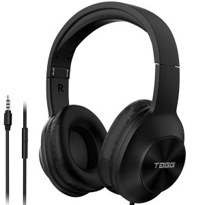 Alexa Enabled TAGG SoundGear 700 over Ear Wired Headphones